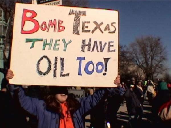 Bomb Texas...