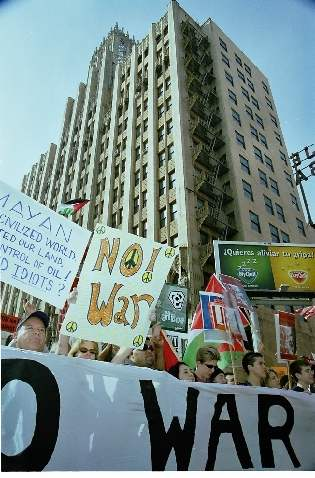 No War On Iraq...
