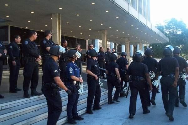 The Arrests...