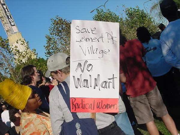 no walmart...