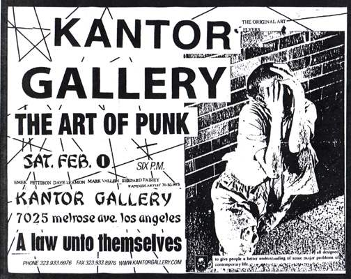THE ART OF PUNK...