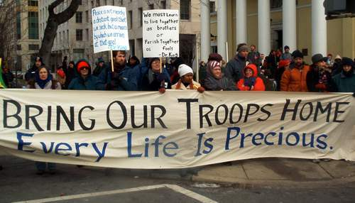 Support the troops.....