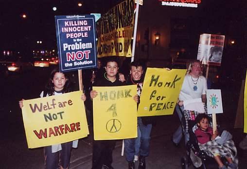 Alhambra Peace Vigil...