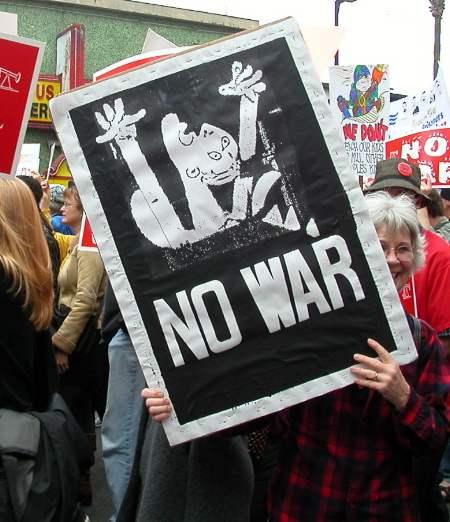 No War...