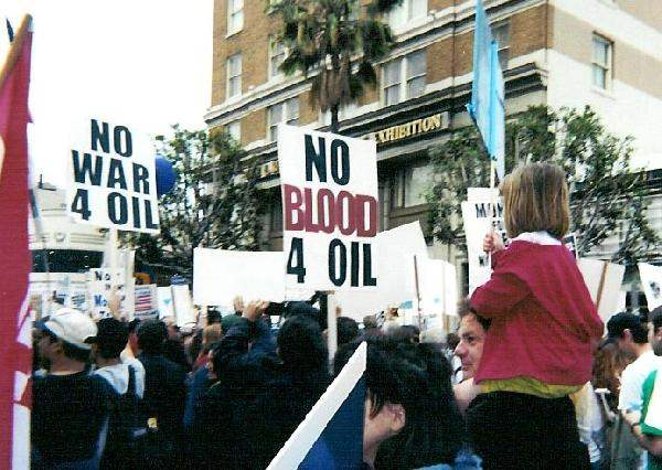 No Blood for Oil...