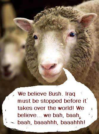 WE BELIEVE BUSH!...