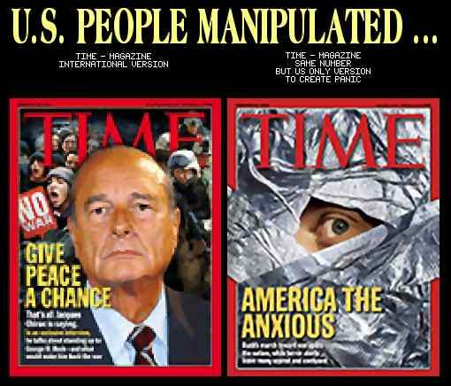 We are manipulated !...
