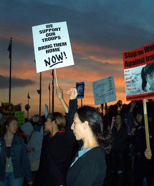 Westwood protest pho...