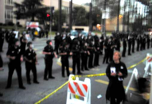 LAPD and the Oscars ...