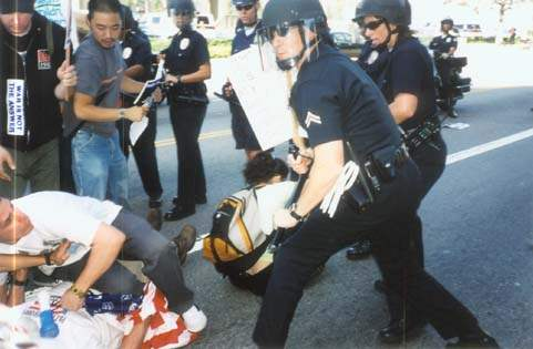 Bad Cop Gets Crazy...