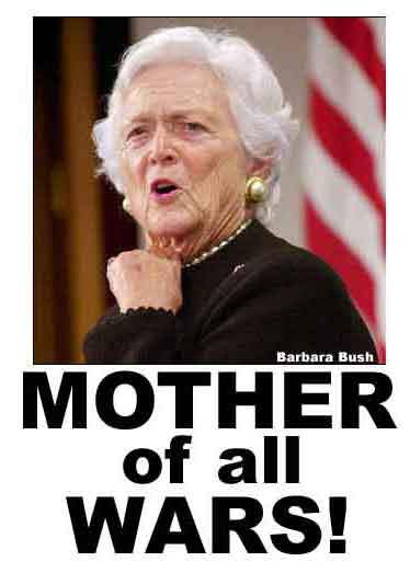 mum of all wars...