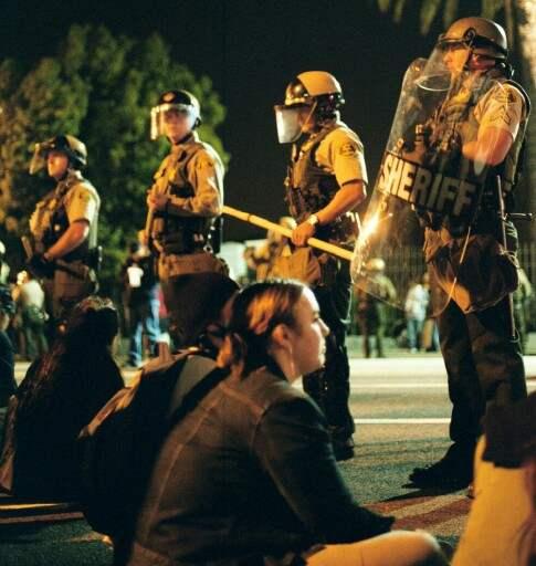 Cops in a Row...