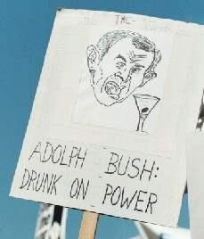 drunk on power...