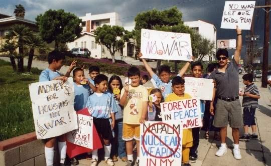 NELA PEACE PROTEST...