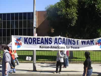Koreans for Peace...