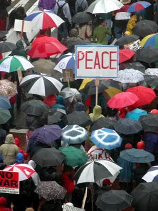 Peace Marches...