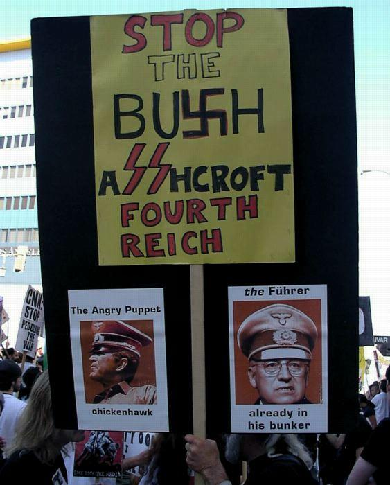 Best 'Bush = Nazi' s...