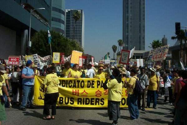 Bus Riders Union...