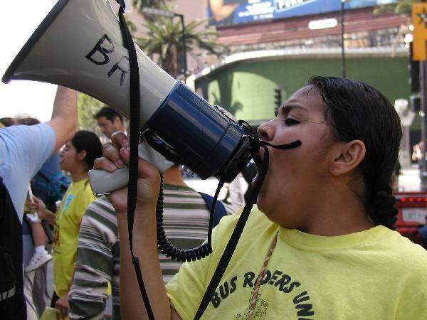 BR Protestor at Holl...