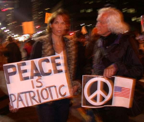 Peace is patriotic...