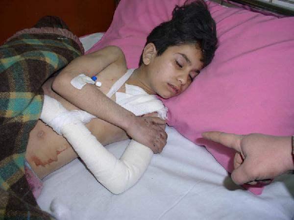 Rana Adman, age 9, i...