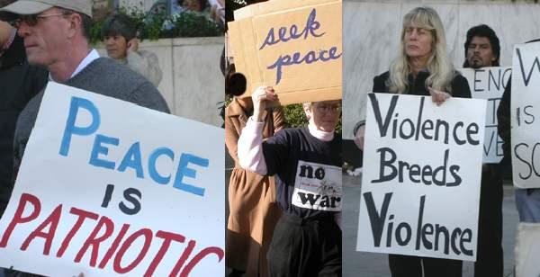 (3) Anti-War protest...