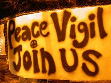 Peace Vigil at Mar V...