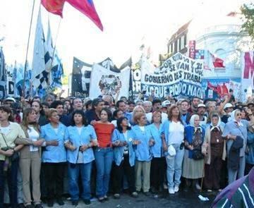 Repression in Argent...