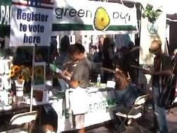 Green Party at Santa...
