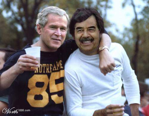 Party back at Dubya'...