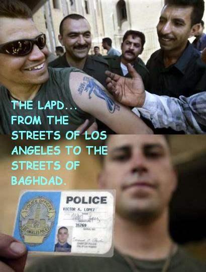 LAPD IN IRAQ...