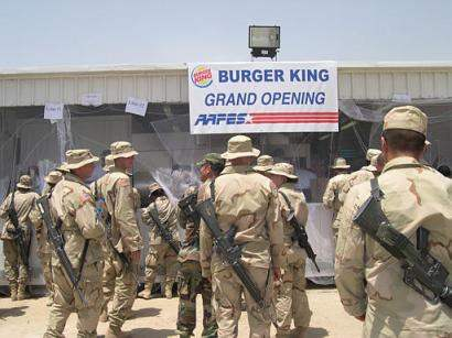 Burger King in Baghd...