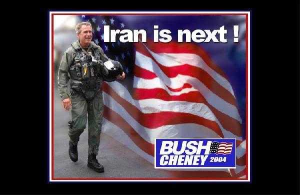 Bush Campaign Poster...
