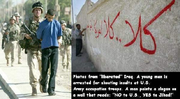 Occupied Iraq...