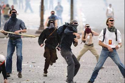 Social War in France...