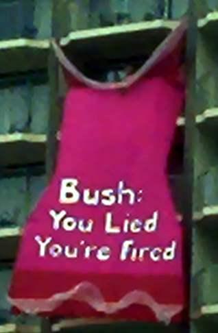 Bush Gets Pink slip!...