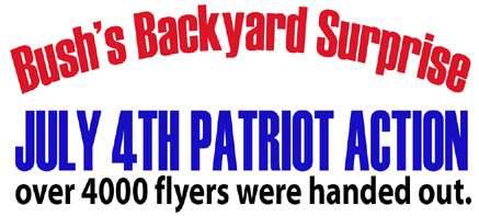 Bush's Backyard Surp...