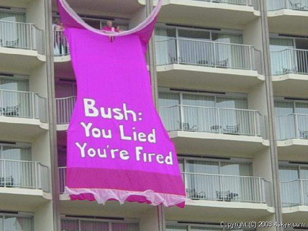 You are fired!...