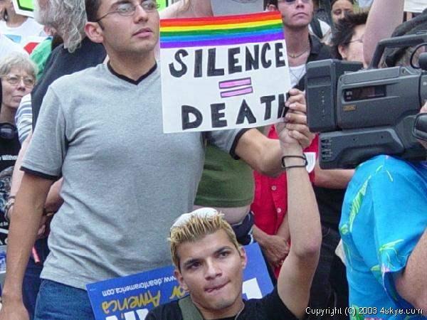 Silence is Death...