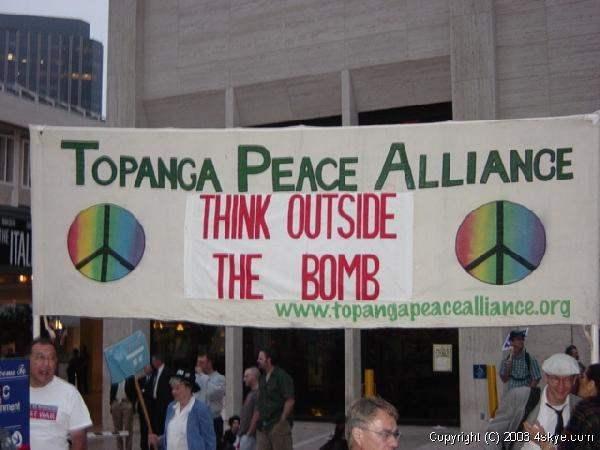 Outside the Bomb!...