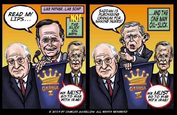 Bush Lies (amsellem)...