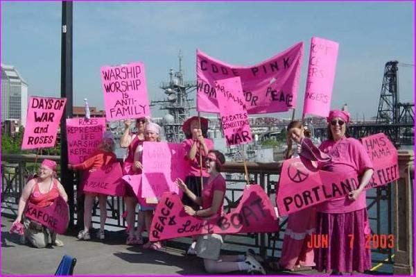 Code Pink Portland a...