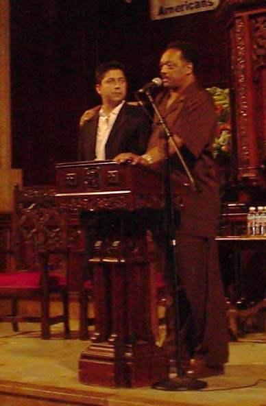 Jesse Jackson with M...