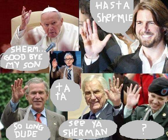 GOODBYE SHERMAN AUST...