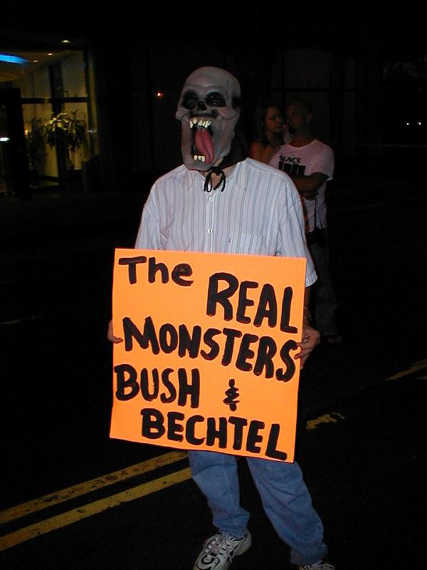 Bechtel protest LA 1...