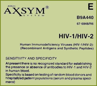 'AIDS TEST' Tyranny...