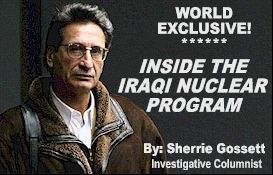 IRAQI NUKE SCIENTIST...