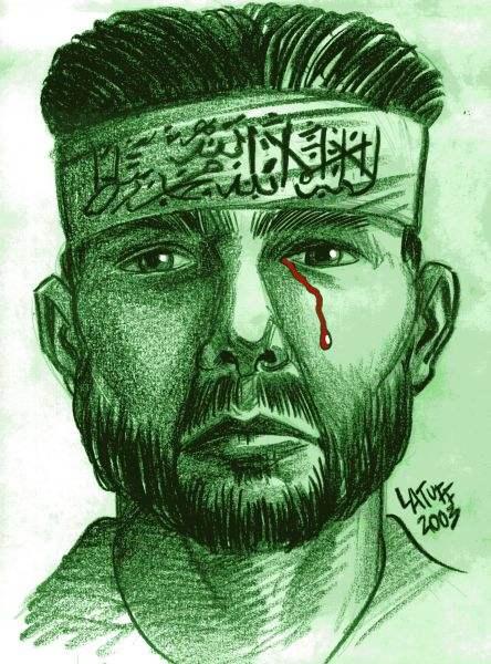 Hamas (by Latuff)...