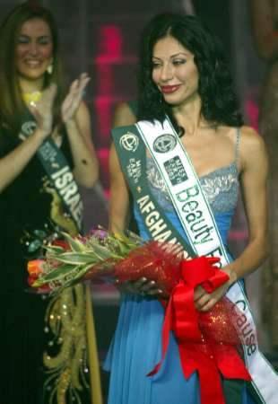 Miss Afghanistan!...