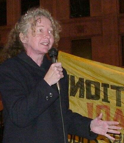 Kathy Kelly at the V...